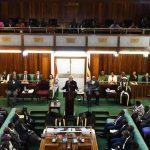 PM Modi in Uganda Parliament