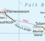 धनुषकोडी MAP